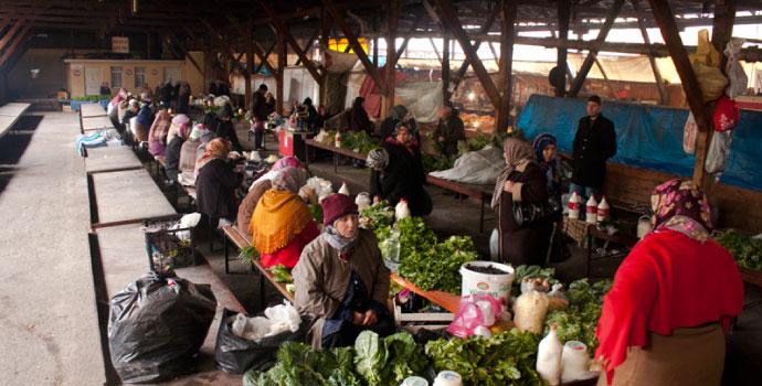 Trabzon'da pazar fiyatları ateş pahası