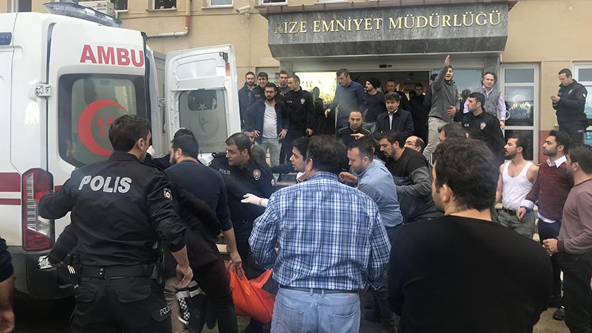 Rize Emniyet Müdürü uğradığı silahlı saldırıda şehit oldu