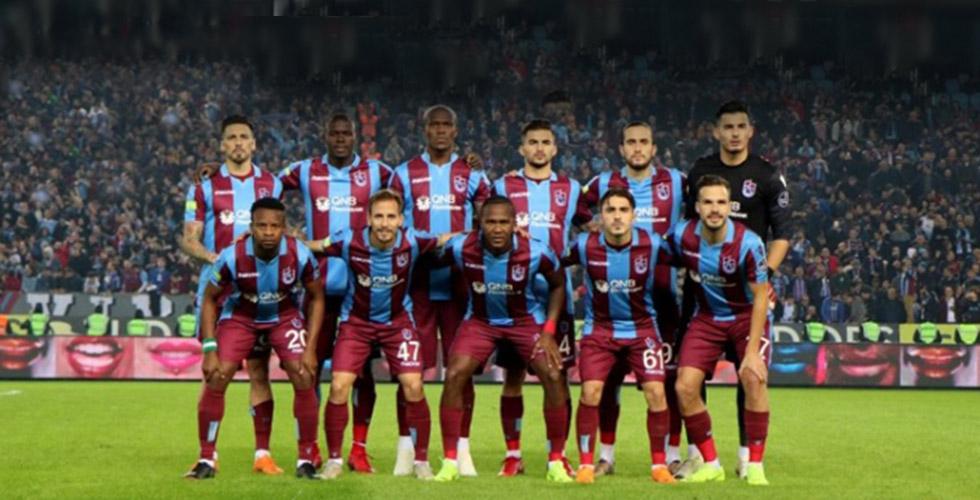 İşte Trabzonspor'un Sivas kadrosu