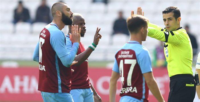 Trabzonspor'da Mete Kalkavan tepkisi
