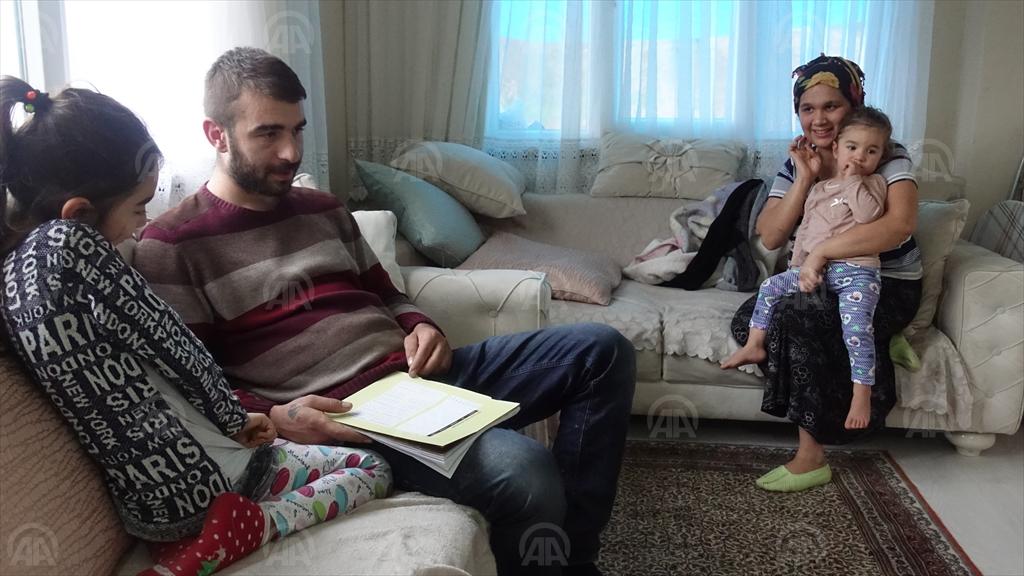 """Trabzon'da Devletin """"sıcak eli"""" hayatlarını değiştirdi"""