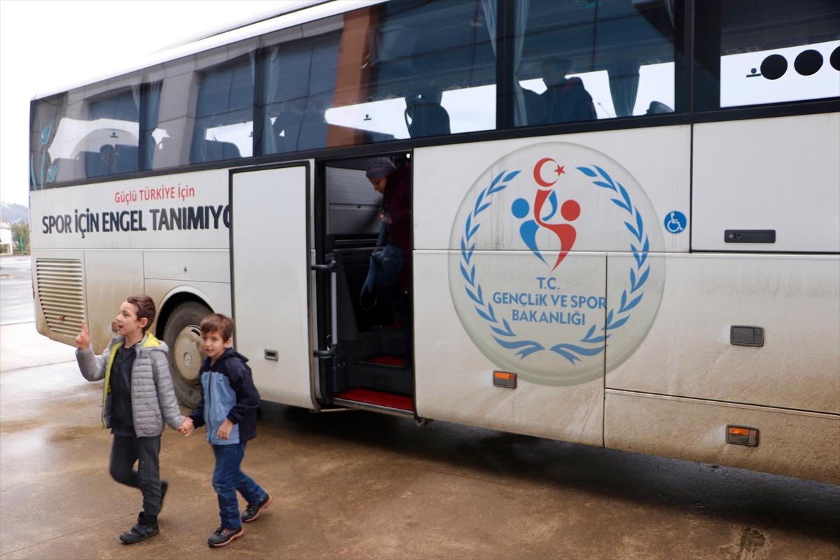 Trabzon'da geleceğin paralimpik sporcuları yetişiyor