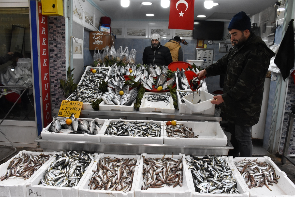 """Karadeniz'deki olumsuz hava nedeniyle """"hamsi"""" avlanamadı"""