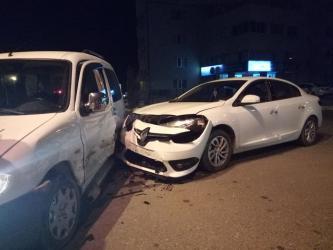 Arsin'de trafik kazası