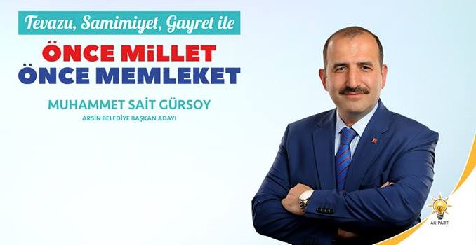 AK Parti Arsin adayı belli oldu!