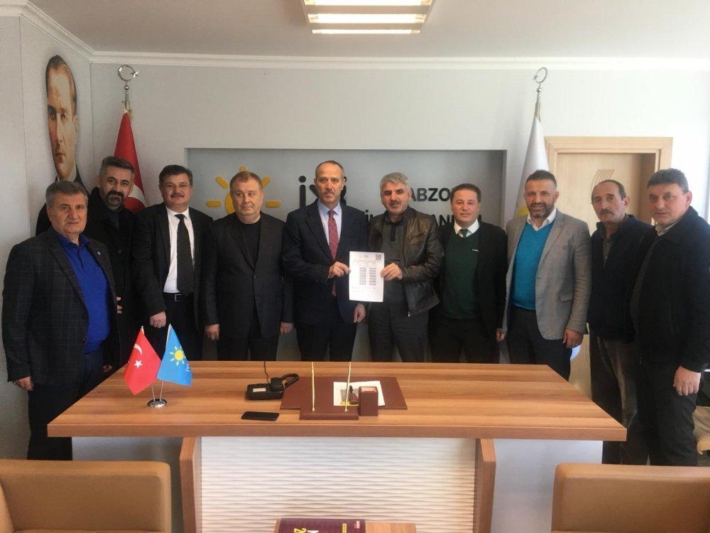 İYİ Parti Arsin Belediye Başkan adayı belli oldu