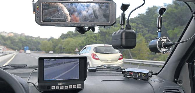 Trabzon radara yakalandı! Trafikte fatura kabarık!