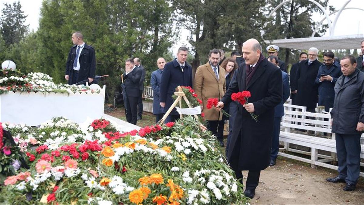 İçişleri Bakanı Soylu KKTC'de Denktaş ailesine taziye ziyaretinde bulundu