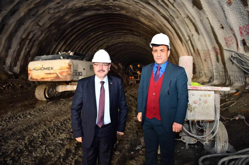Trabzon'da akvaryum için tünel kısmı tamamlandı