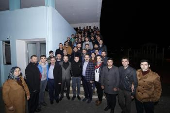 Gürsoy'a Arsinli gençlerden tam destek!