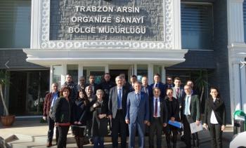 """""""2019 Yılı Milli İstihdam Seferberliği"""" Bilgilendirme Toplantısı Arsin OSB'de Yapıldı"""