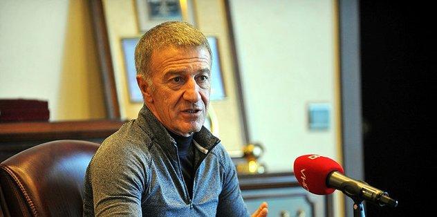 Trabzonspor Başkanı Ağaoğlu'ndan Mustafa Cengiz için geçmiş olsun mesajı