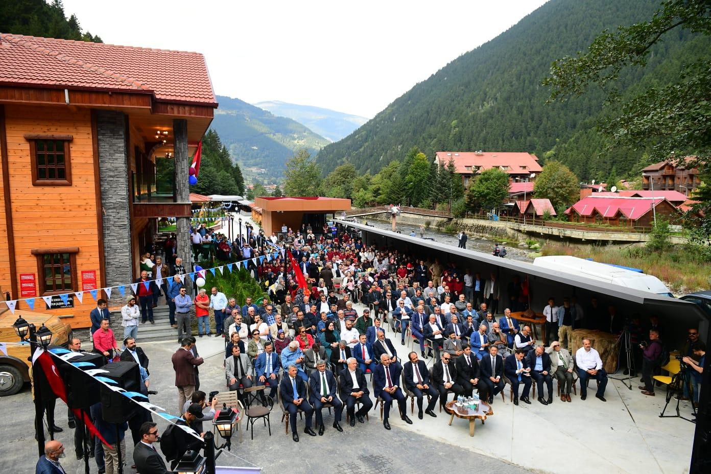 """""""Uzungöl Dursun Ali İnan Müzesi"""" açıldı"""