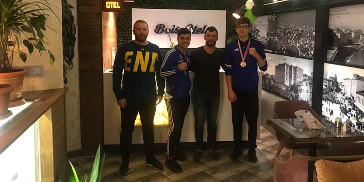 Trabzon'un şampiyonları ödüllendirildi!
