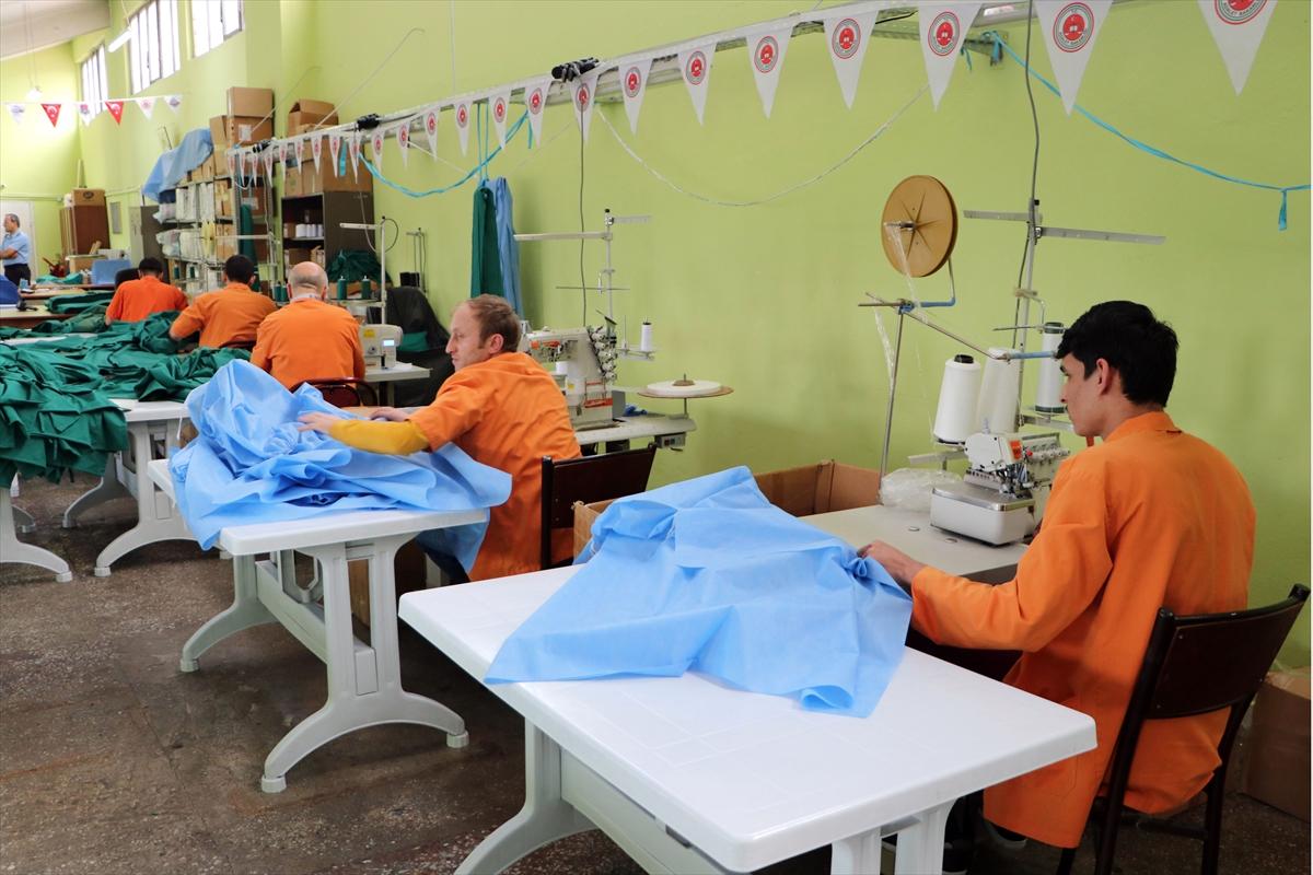 Fabrika gibi cezaevinde 8 ayda 5,2 milyon lira ciro