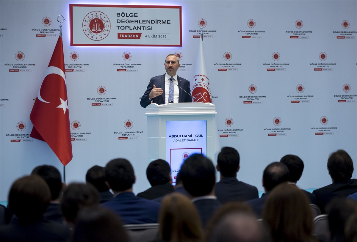 Adalet Bakanı Abdulhamit Gül, Trabzon'da