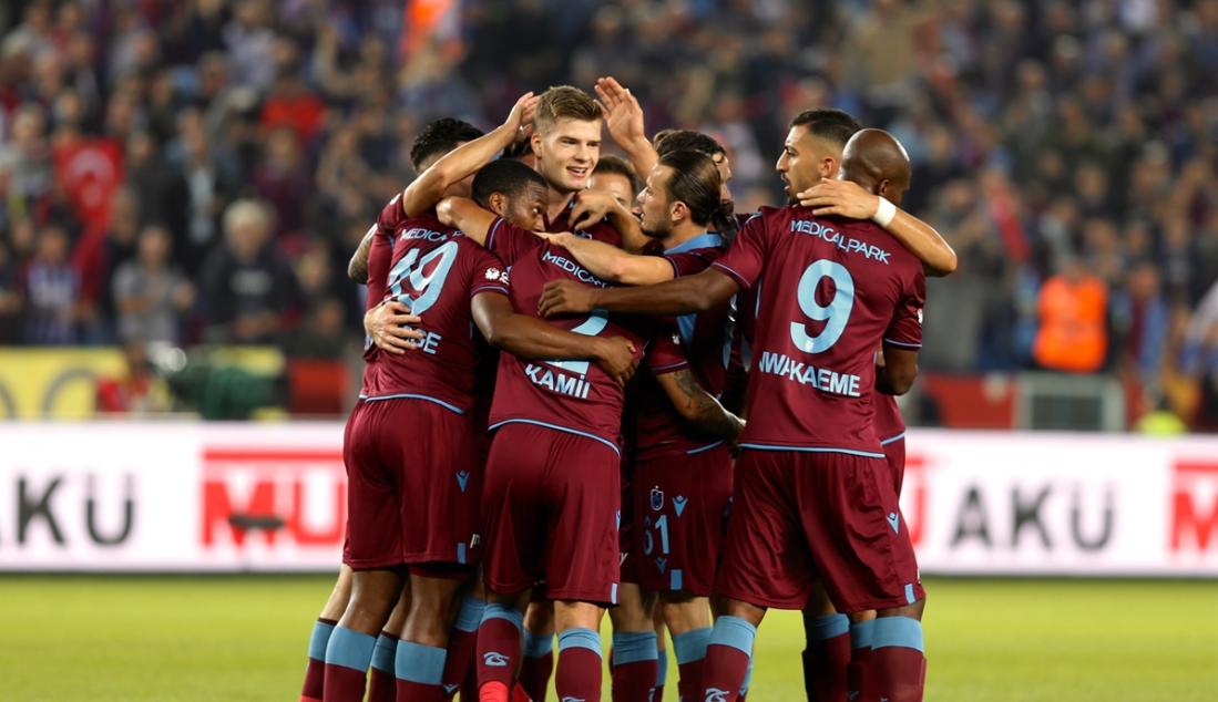 Trabzonspor, son yılların en iyi ilk yarı puanını aldı