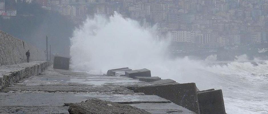 Trabzon'a fırtına uyarısı!