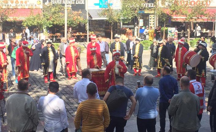 Trabzon'dan Barış Pınarı Harekatı'na mehterli destek