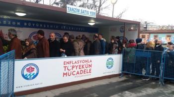 Trabzon'da Tanzim Satışta son durum