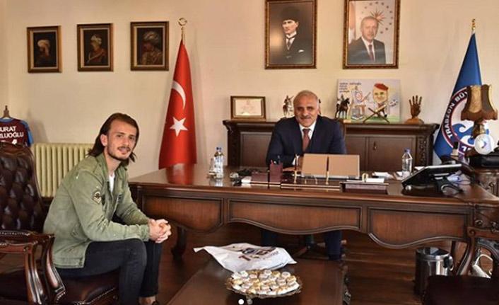 Abdulkadir Parmak'tan Zorluoğlu'na ziyaret