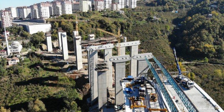 Türkiye'nin en maliyetli yolu Trabzon'da!