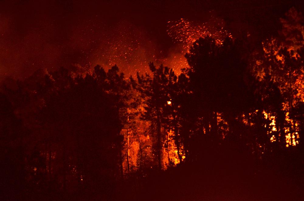 Arsin'de Orman Yangını! Müdahale edilemiyor!