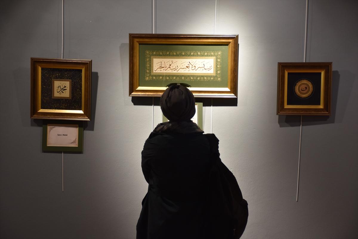 """Trabzon'da, """"Kadim Sanata Yolculuk"""" sergisi açıldı"""