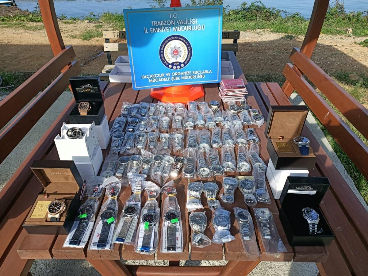 Trabzon'da kaçakçılık uygulamaları