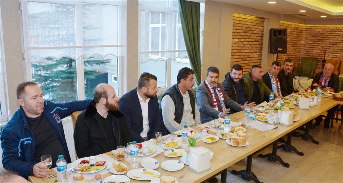 Trabzon Emniyet Müdürü Alper, taraftar grupları dernek başkanlarıyla bir araya geldi