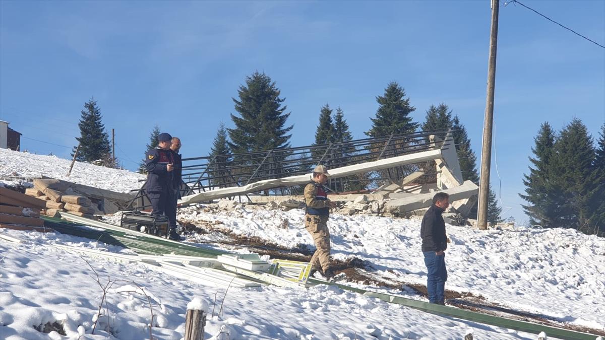 Trabzon'da izinsiz inşa edilen 160 yapı yıkıldı