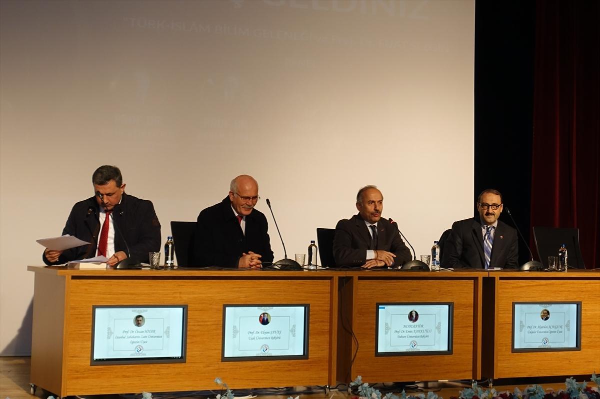İslam bilimleri tarihçisi Prof. Dr. Fuat Sezgin, Trabzon'da anıldı