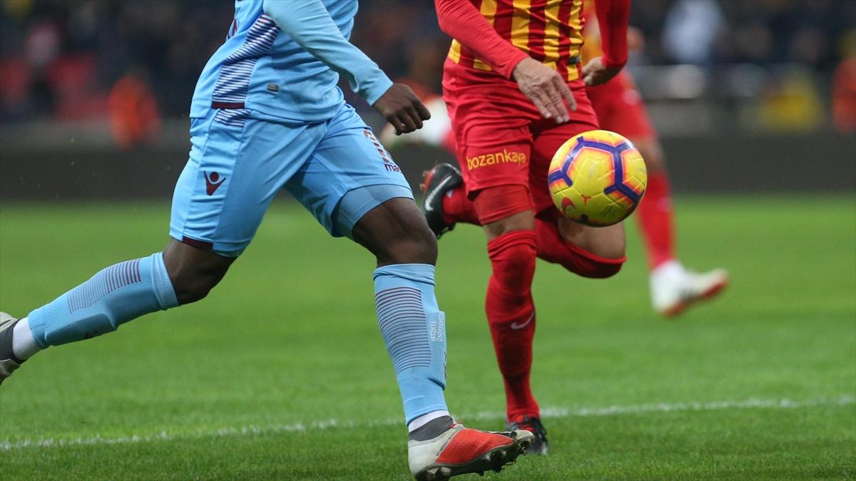 Trabzonspor, sahasında Kayserispor ile karşılaşacak