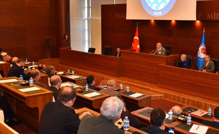 Trabzon Büyükşehir'de toplantılar başladı