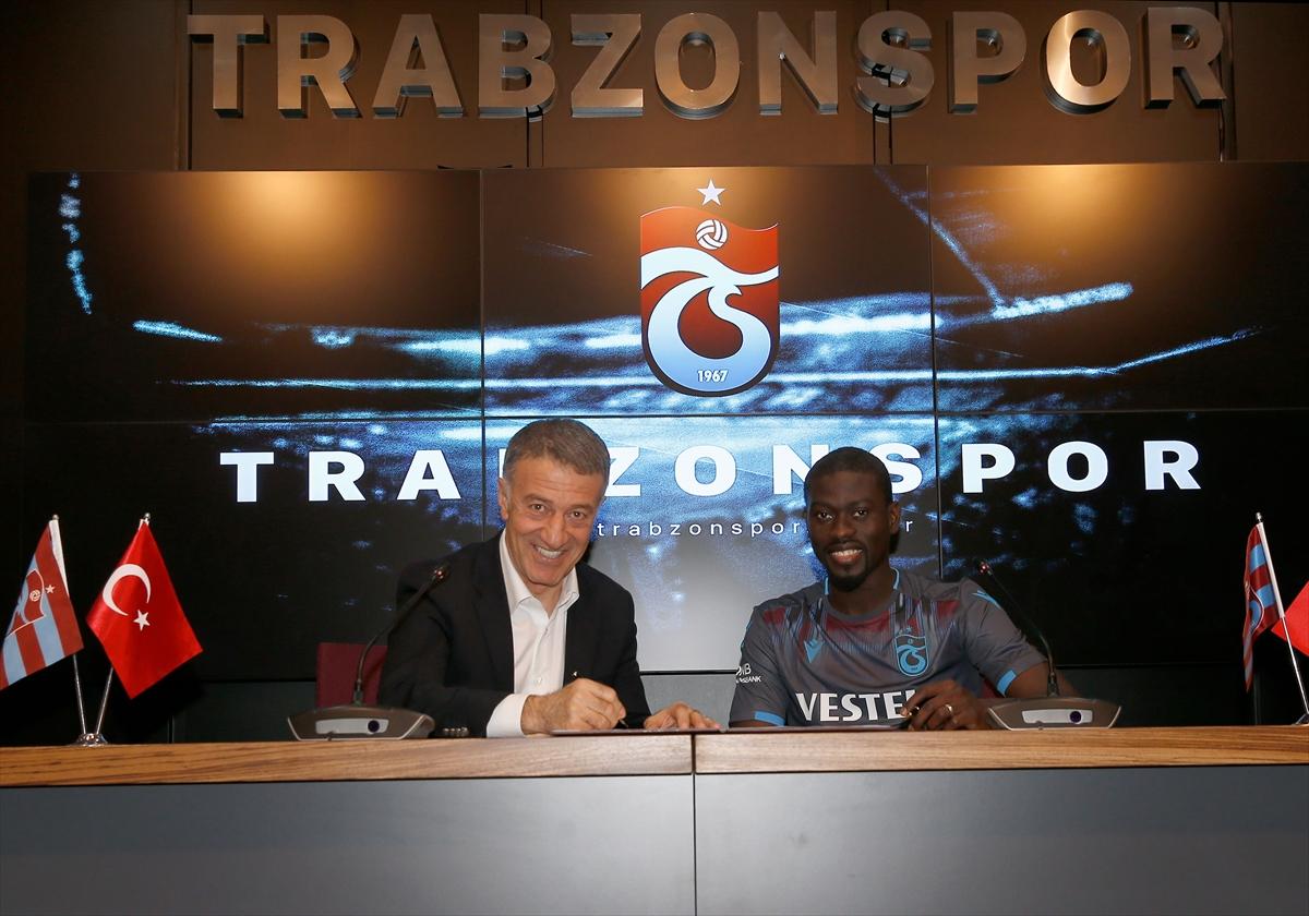 Trabzonspor, Ndiaye ile sözleşme imzaladı