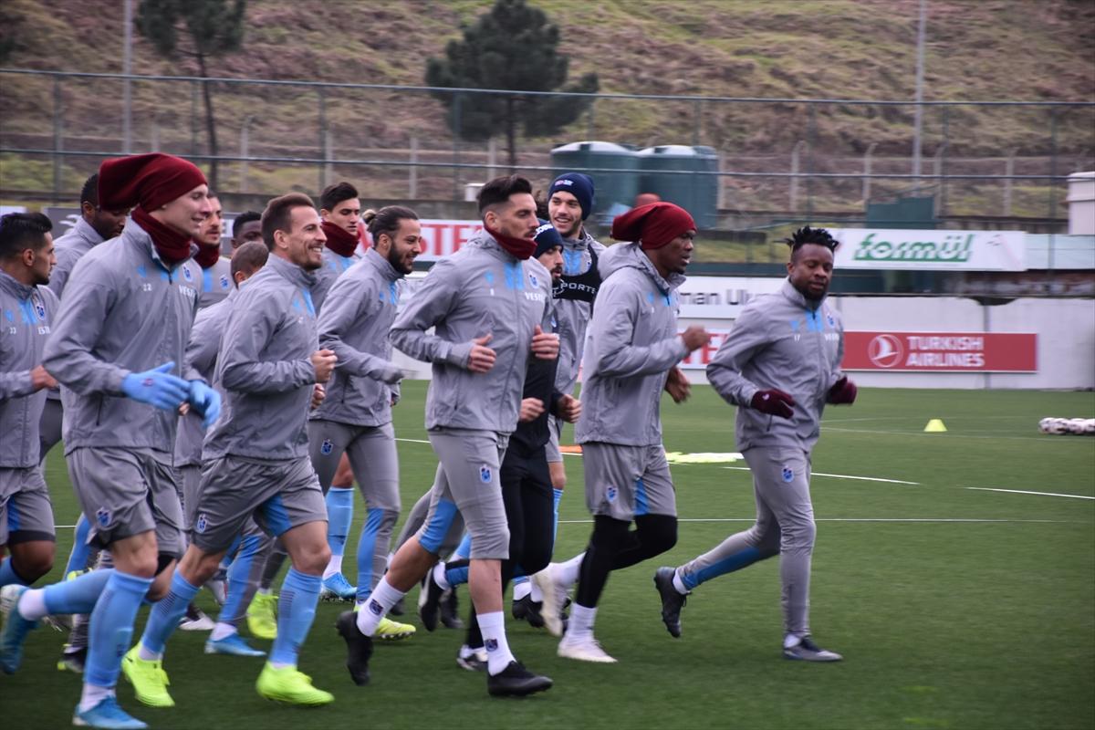 Trabzonspor'da Denizlispor maçı hazırlıkları