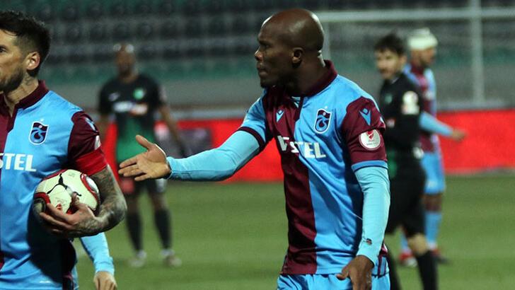 Trabzonspor'dan Tahkim Kurulana Nwakaeme itirazı: Kart haksız!