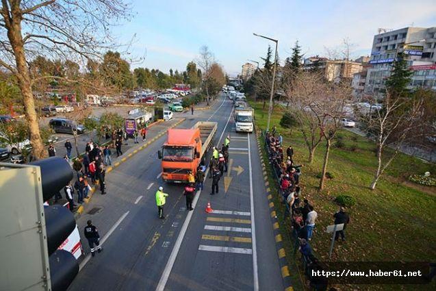 Akçaabat'taki feci kaza Trabzonspor taraftarlarını yasa boğdu