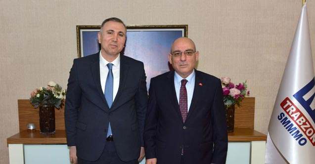 TESOB Başkanı Kara'dan Trabzon SMMMO'ya ziyaret