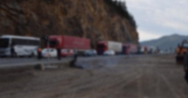 Trabzon'da o yol bugün kapalı