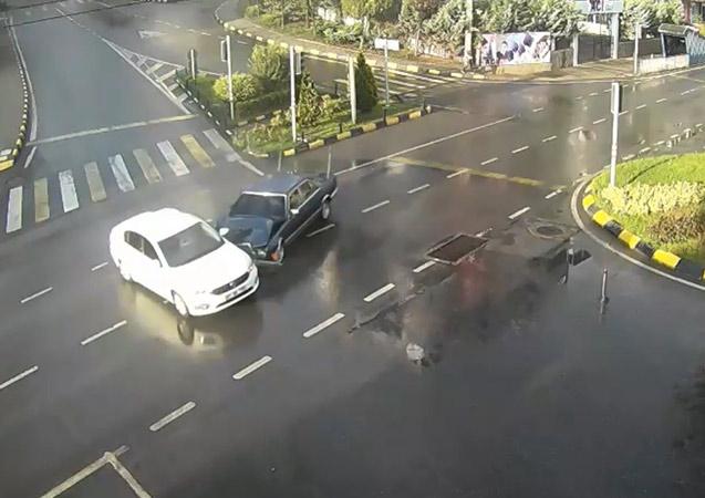 Trabzon'da kırmızı ışıkta geçen sürücüler kameralara yakalandı