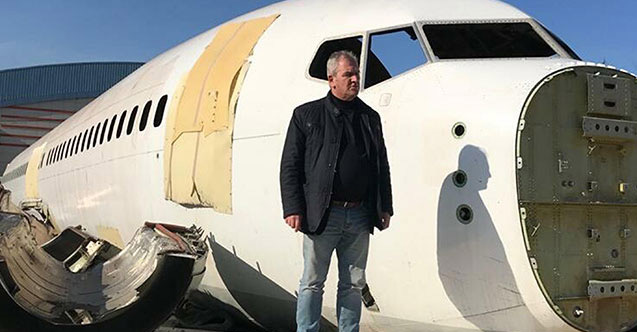 Trabzon'da pistten çıkan uçağa talip çıktı