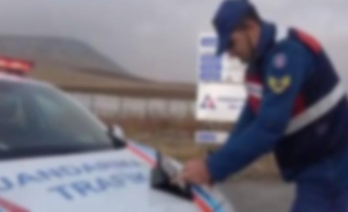 Trabzon'da jandarmadan 114 bin TL'lik ceza