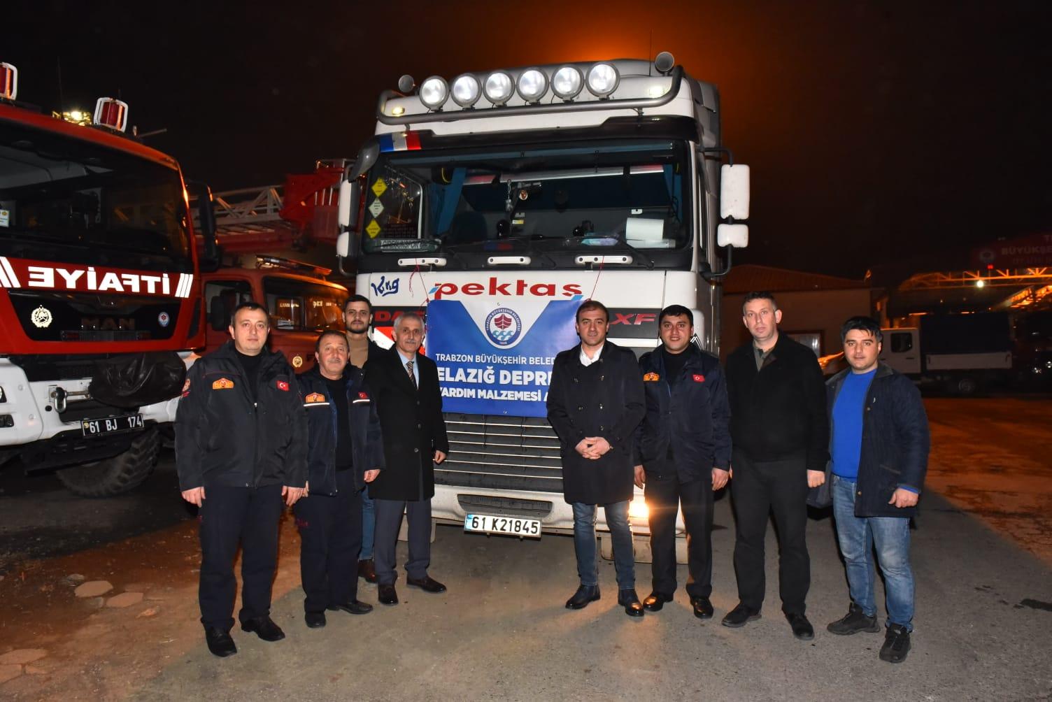 Trabzon, Eelazığ'ın Yanında