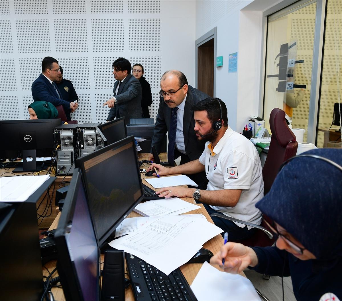 Trabzon Valisi Ustaoğlu, Vefa Sosyal Destek Grubu'nun çalışmalarını inceledi