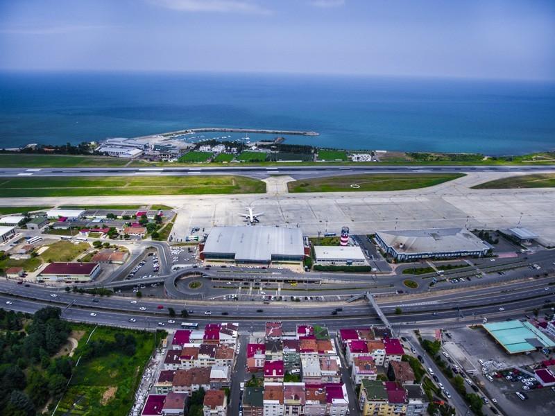 Trabzon Havalimanı pisti bakıma alınıyor