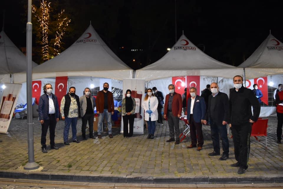 AK Parti Trabzon Gençlik Kolları Başkanlığının kan bağışı kampanyası