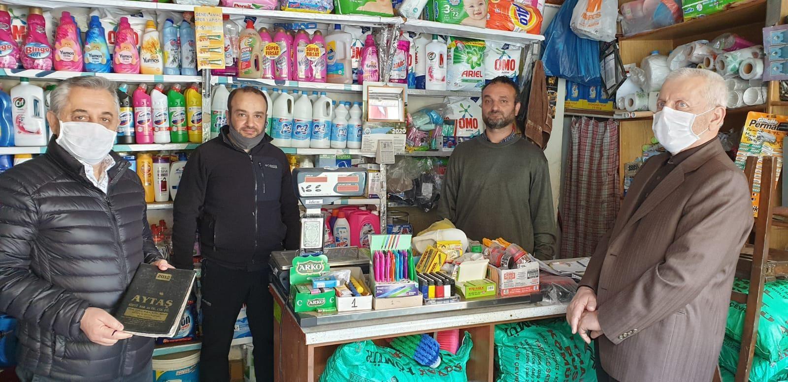 Hayırseverler 5 mahallede bakkallardaki veresiye borçlarını kapattı