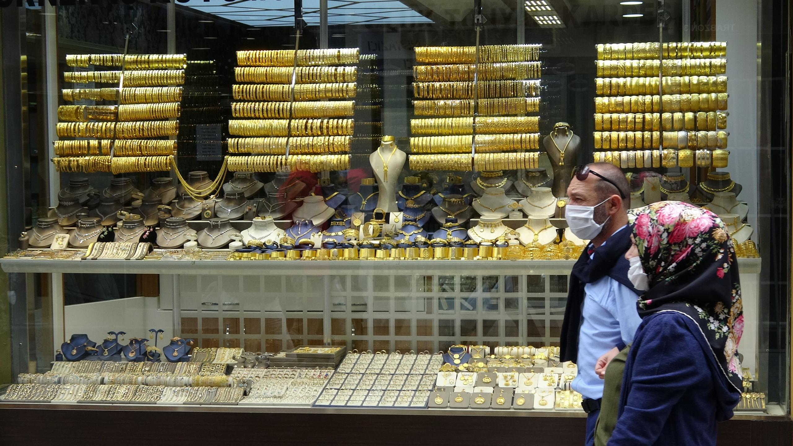 Korona virüs sürecinde altın fiyatları artınca Trabzon hasır bileziğinde üretim durdu