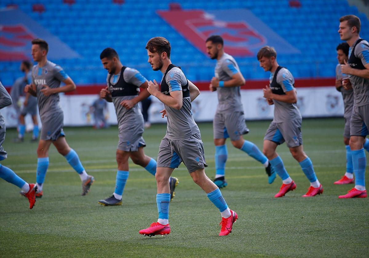 Trabzonspor, Göztepe maçının hazırlıklarını sürdürüyor